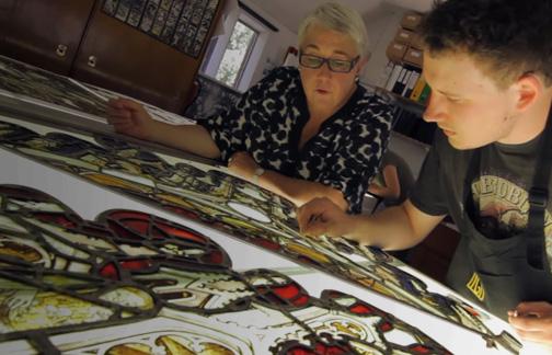 Restoring an international work of art